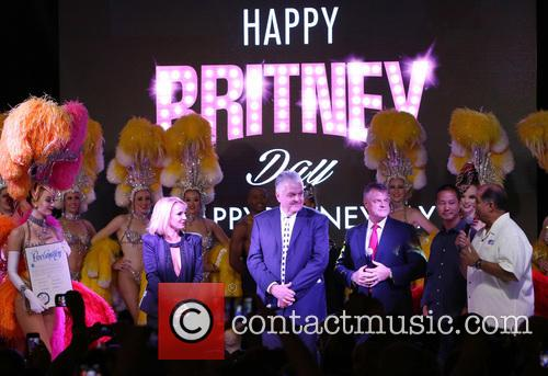 Britney Spears gets a key to the Las...