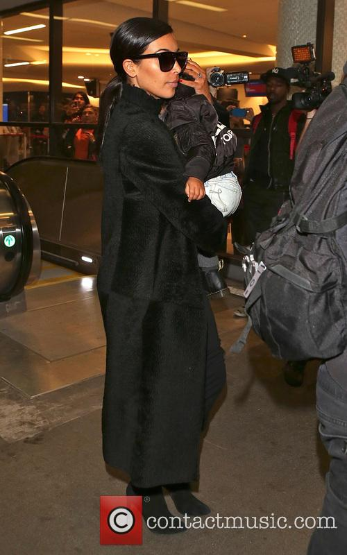 Kim Kardashian and North West 4