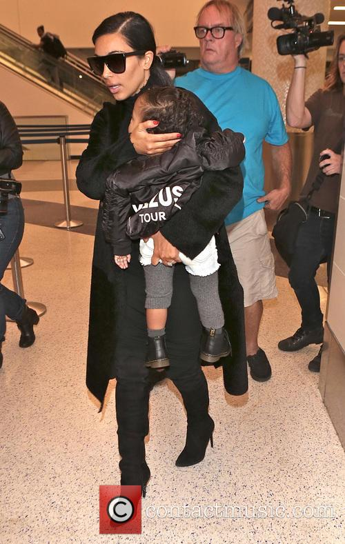 Kim Kardashian and North West 5