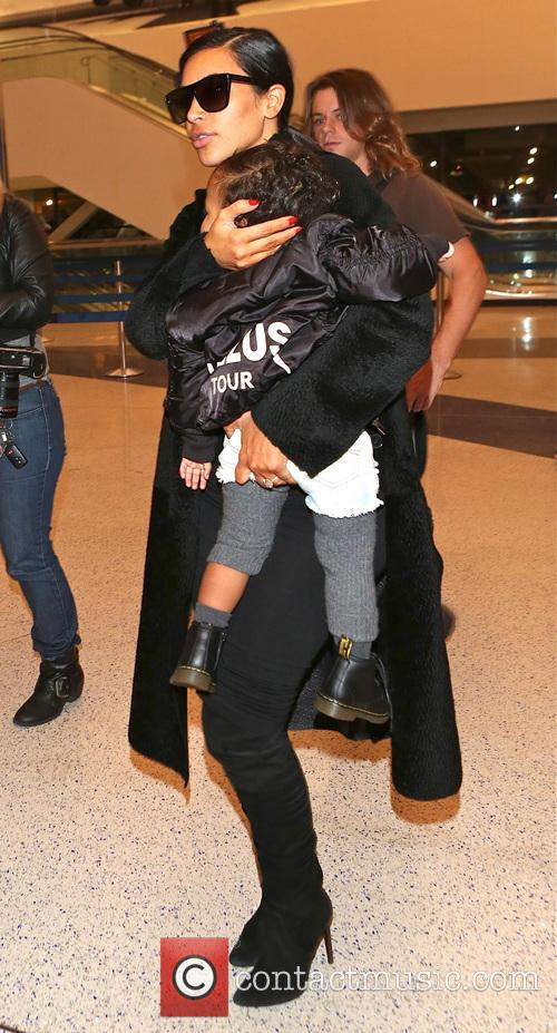 Kim Kardashian and North West 6