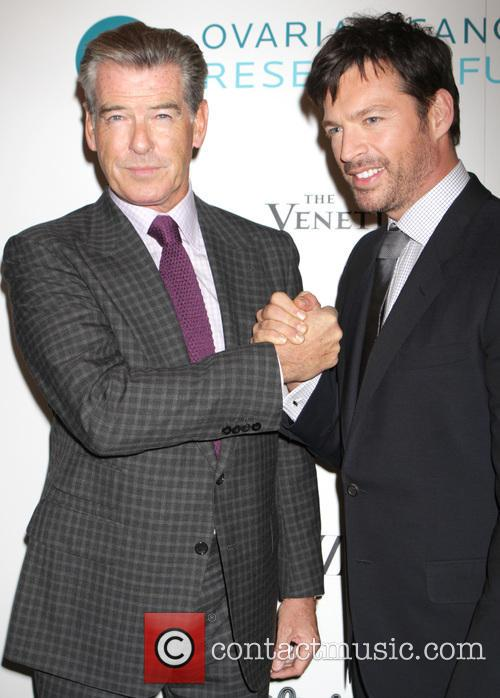 Pierce Brosnan and Harry Connick Jr. 3