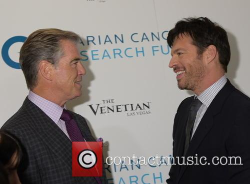 Pierce Brosnan and Harry Connick Jr. 9