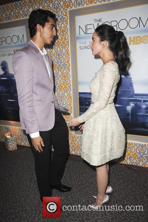 Dev Patel and Olivia Munn 2
