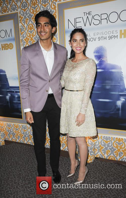 Dev Patel and Olivia Munn 3