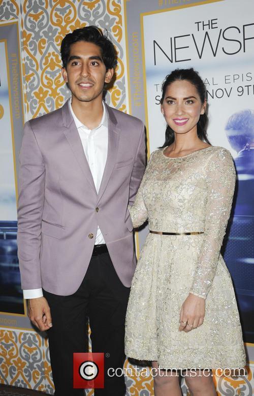 Dev Patel and Olivia Munn 4