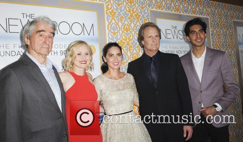 Sam Waterston, Alison Pill, Olivia Munn, Jeff Daniels and Dev Patel 2