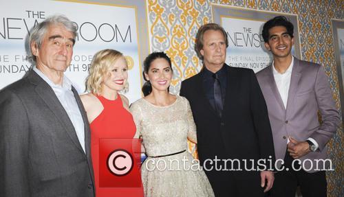 Sam Waterston, Alison Pill, Olivia Munn, Jeff Daniels and Dev Patel 1