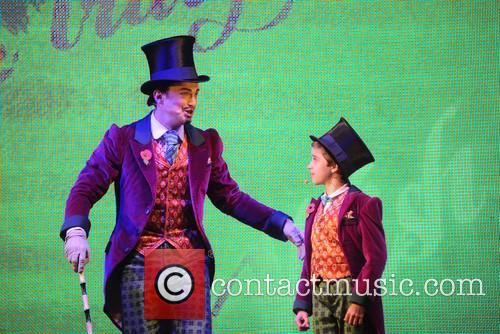 The cast of 'Willy Wonka' perform at the...