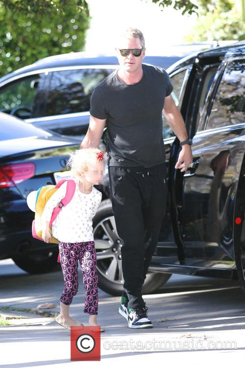 Eric Dane heads out for the day with...