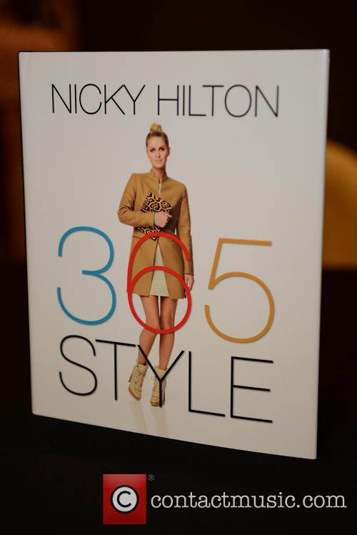 Nicky Hilton book signing