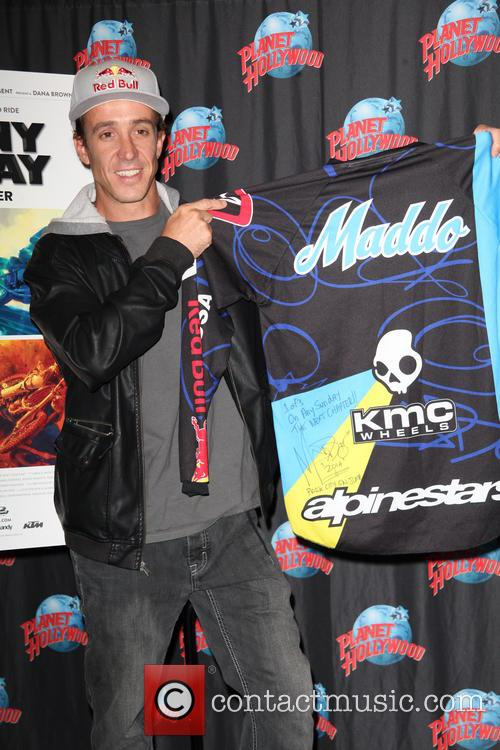 Robbie Maddison and With A Memorabilia Donation 11