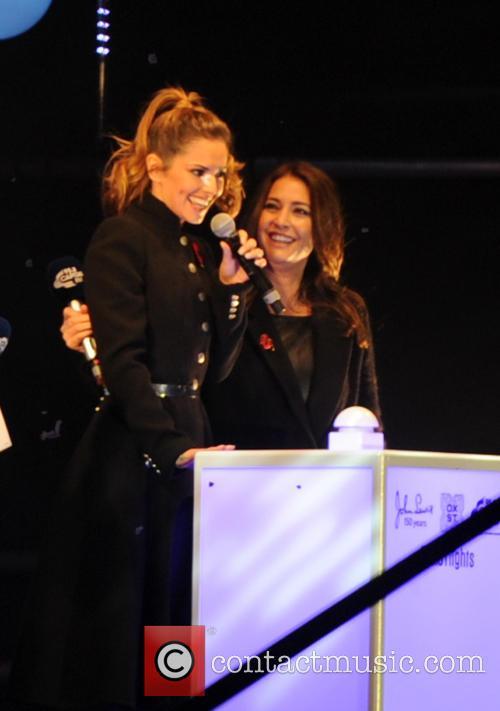 Cheryl Fernandez-versini and Cheryl Cole 3