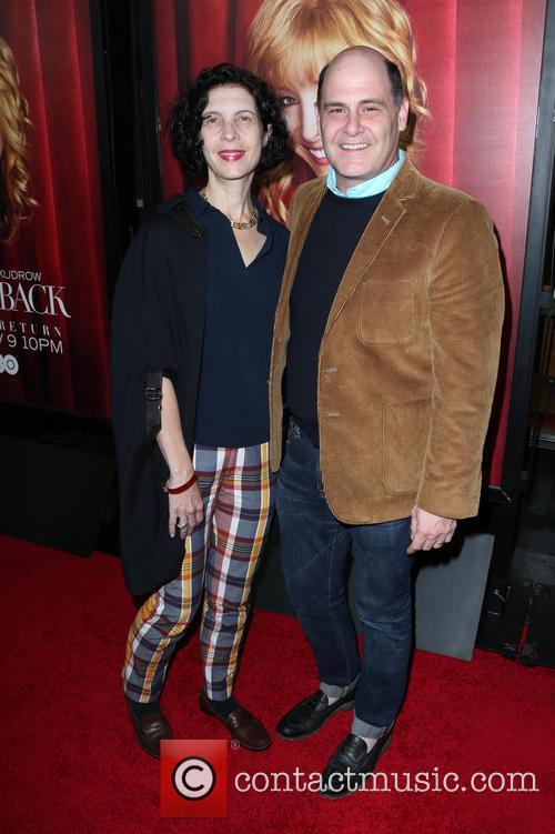 Matthew Weiner and Linda Brettler 2