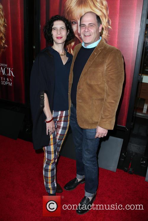 Matthew Weiner and Linda Brettler 1