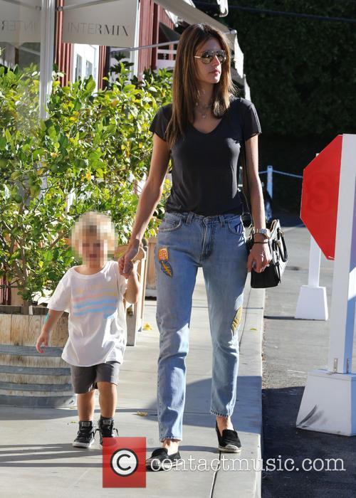 Alessandra Ambrosio and Noah Phoenix Ambrosio Mazur 10
