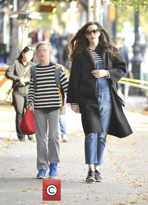 Liv Tyler and Milo William Langdon 9