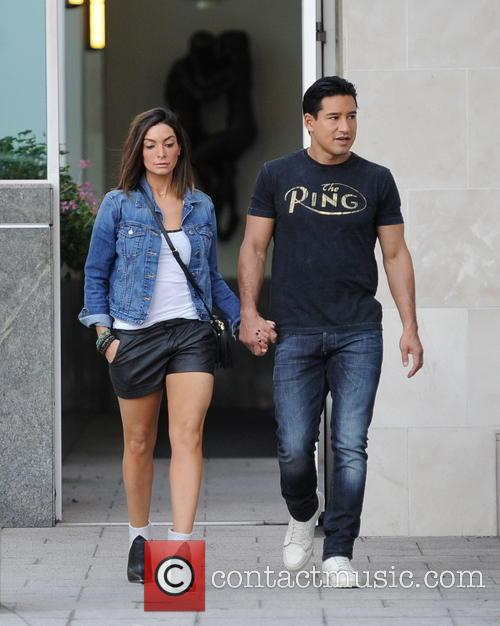 Mario Lopez and Courtney Mazza 3