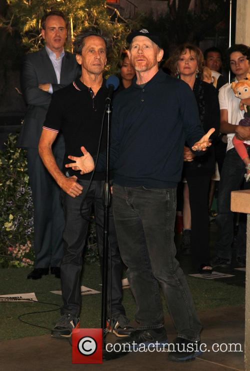 Brian Grazer and Ron Howard 2