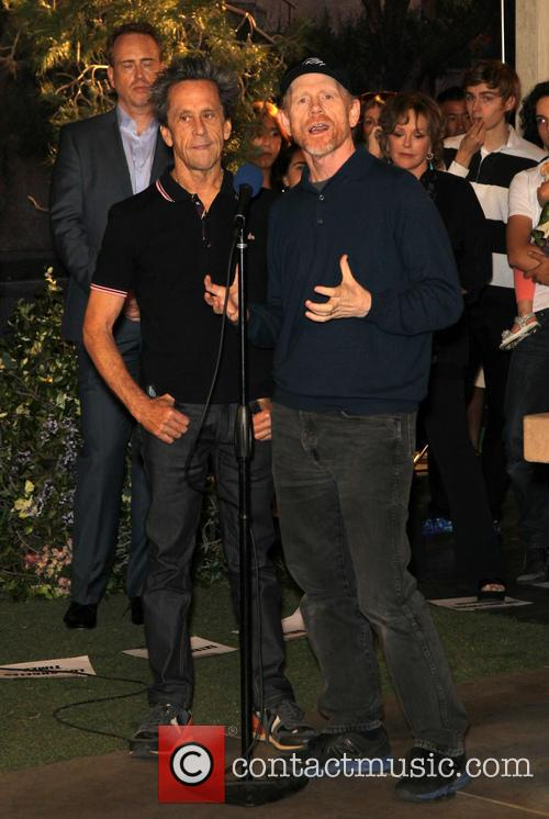 Brian Grazer and Ron Howard 3