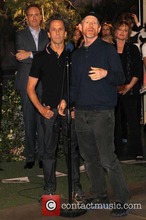 Brian Grazer and Ron Howard 1
