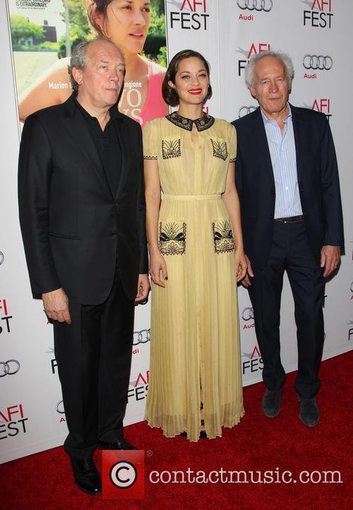 Jean-pierre Dardenne, Marion Cotillard and Luc Dardenne 1