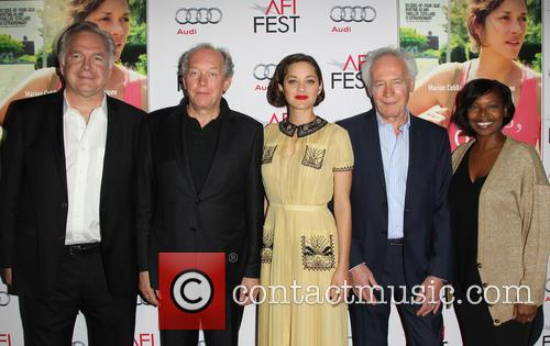 Jonathan Sehring, Jean-pierre Dardenne, Marion Cotillard, Luc Dardenne and Jacqueline Lyanga 2