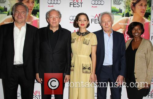 Jonathan Sehring, Jean-pierre Dardenne, Marion Cotillard, Luc Dardenne and Jacqueline Lyanga 1