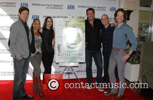 Lane Carson, Essence Atkins, Heather Mccomb, David James Elliott, Danny Buday and George Young Warner 4