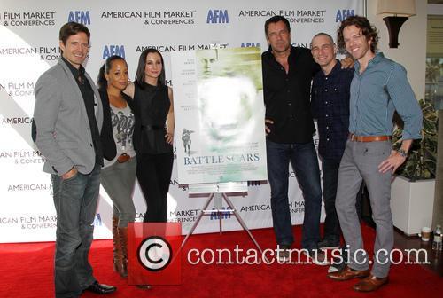 Lane Carson, Essence Atkins, Heather Mccomb, David James Elliott, Danny Buday and George Young Warner 6