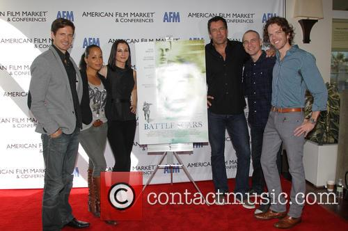 Lane Carson, Essence Atkins, Heather Mccomb, David James Elliott, Danny Buday and George Young Warner 7