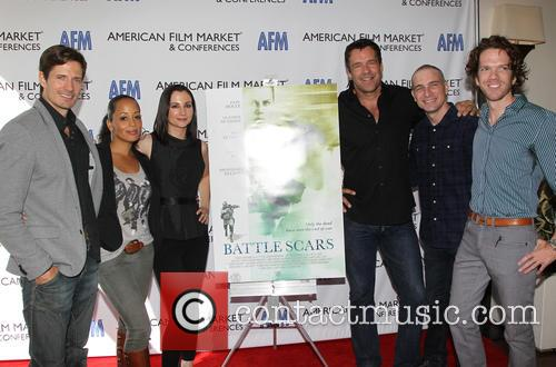 Lane Carson, Essence Atkins, Heather Mccomb, David James Elliott, Danny Buday and George Young Warner 8