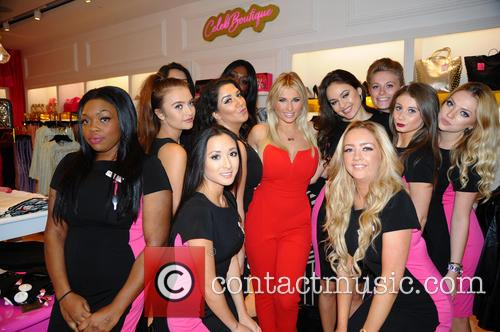 Billie Faiers opens the new branch of House...