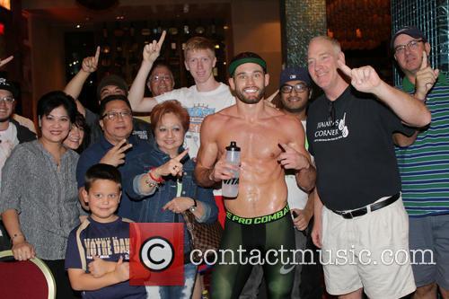 Rocky, Nevada. Team Algieri  Departs This Wednesday Nov 12, 2014 For The Venetian Macau.algieri With Fans and Las Vegas 7