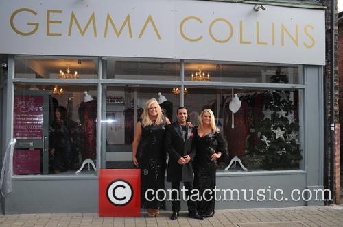 Gemma Collins opens new shop