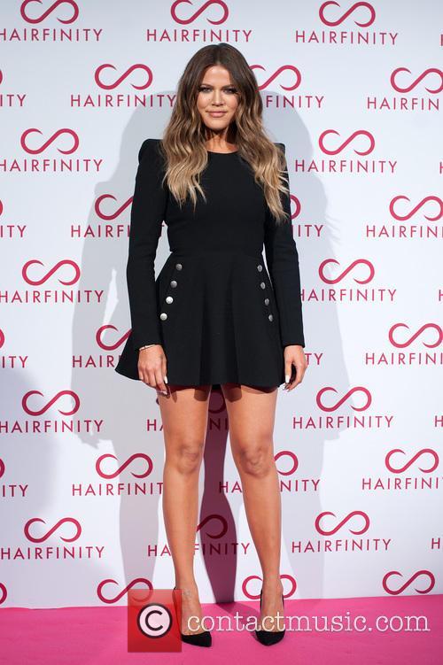 Kim & Khloe Kardashian host the Hairfinity hair...