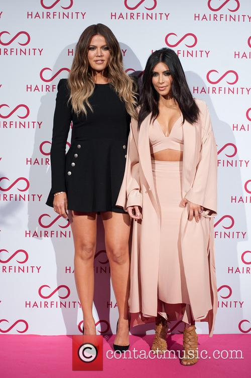 Kim Kardashian West and Khloé Kardashian