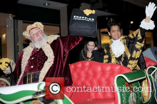 Santa Claus, Coun Shafique Shah and Sadia Shafique 4