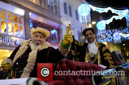 2014 Birmingham Christmas Parade and holiday lights