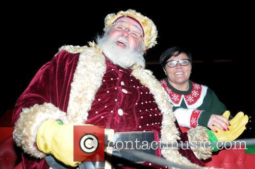 Santa Claus and Georgina Moseley 6
