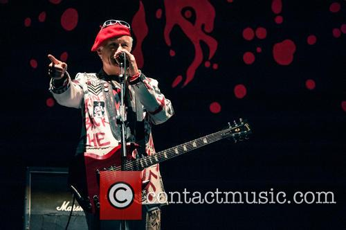 The Damned perform at the SSE Arena, Wembley...