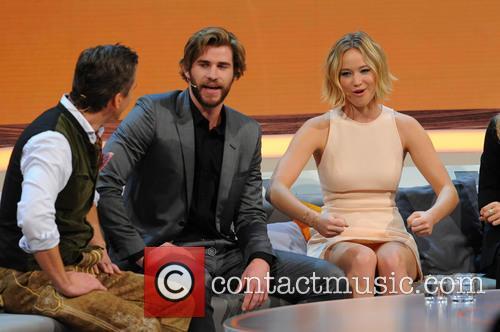 Liam Hemsworth and Jennifer Lawrence 6