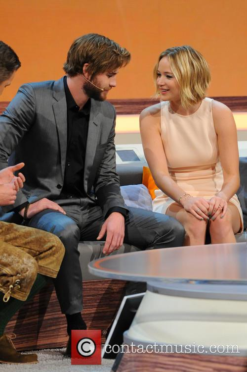 Liam Hemsworth and Jennifer Lawrence 7