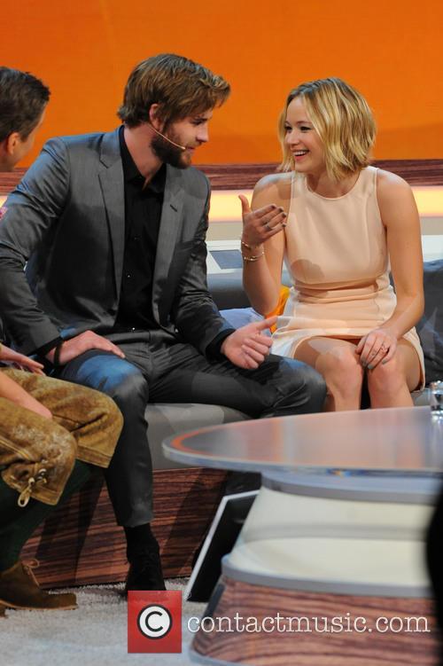 Liam Hemsworth and Jennifer Lawrence 8