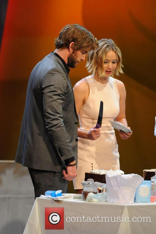 Liam Hemsworth, Jennifer Lawrence and Markus Lanz 9
