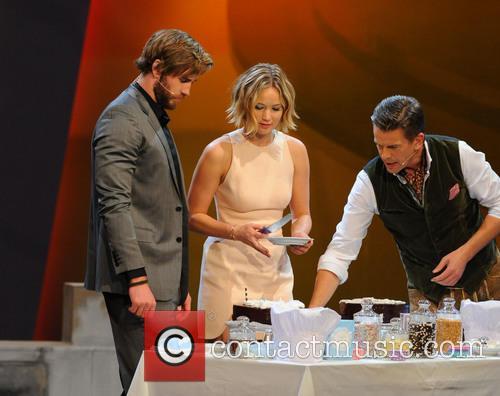 Liam Hemsworth, Jennifer Lawrence and Markus Lanz 10