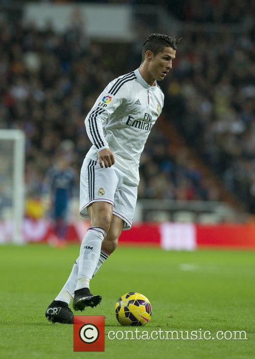 La Liga match between Real Madrid and Rayo...