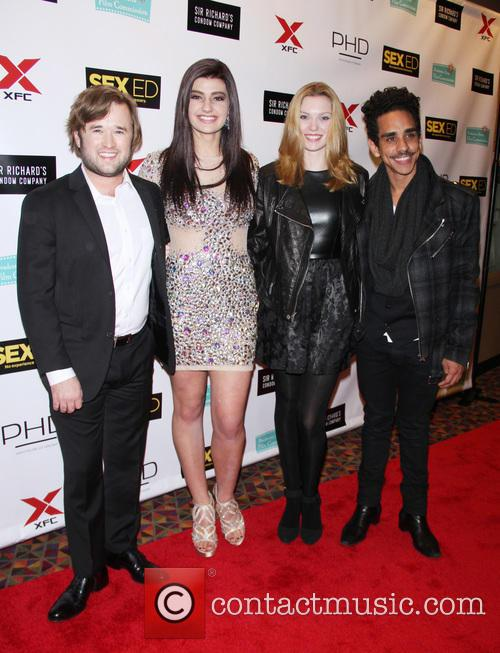 Haley Joel Osment, Ally Rahn, Julia E. King and Ray Santiago