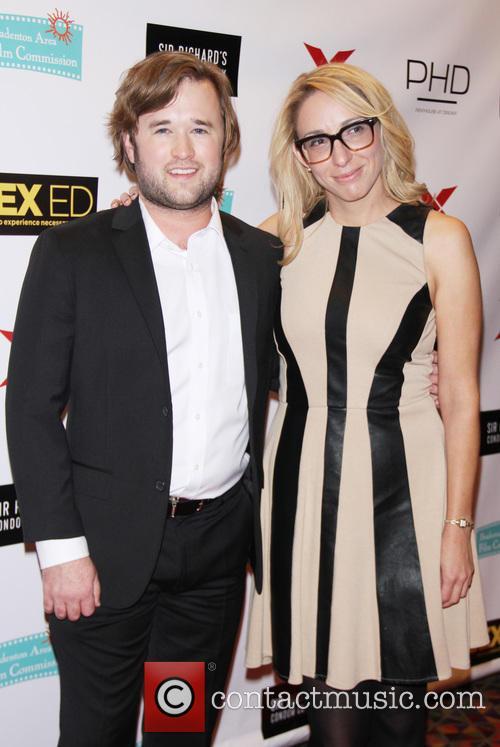 Haley Joel Osment and Co-producer Jennifer Glynn 6