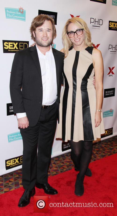 Haley Joel Osment and Co-producer Jennifer Glynn 7