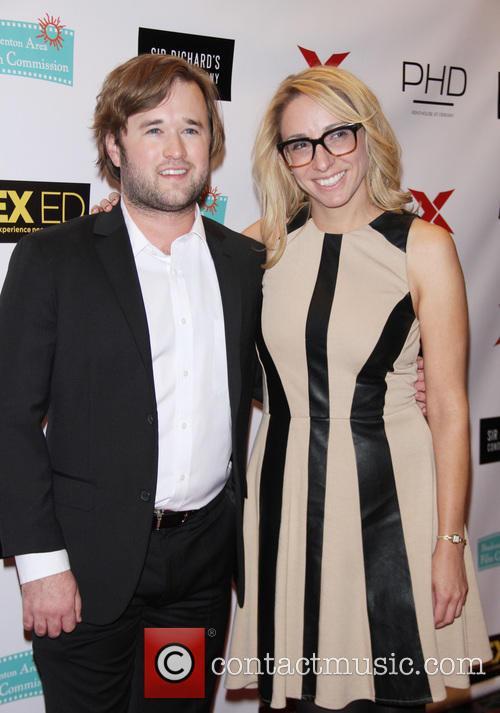Haley Joel Osment and Co-producer Jennifer Glynn 8